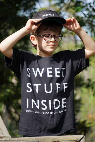 Kid's Sweet Stuff Inside T-Shirt- Black