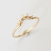 Merewif Keep Us So Ring- 10k Solid Gold
