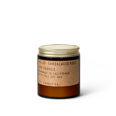 PF Candle Co. No.32 Sandalwood Rose Soy Candle