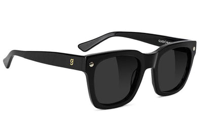 Glassy Walker Premium Plus Polarized Sunglasses- Black