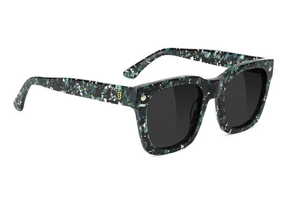 Glassy Walker Premium Plus Polarized Sunglasses- Green Tortoise