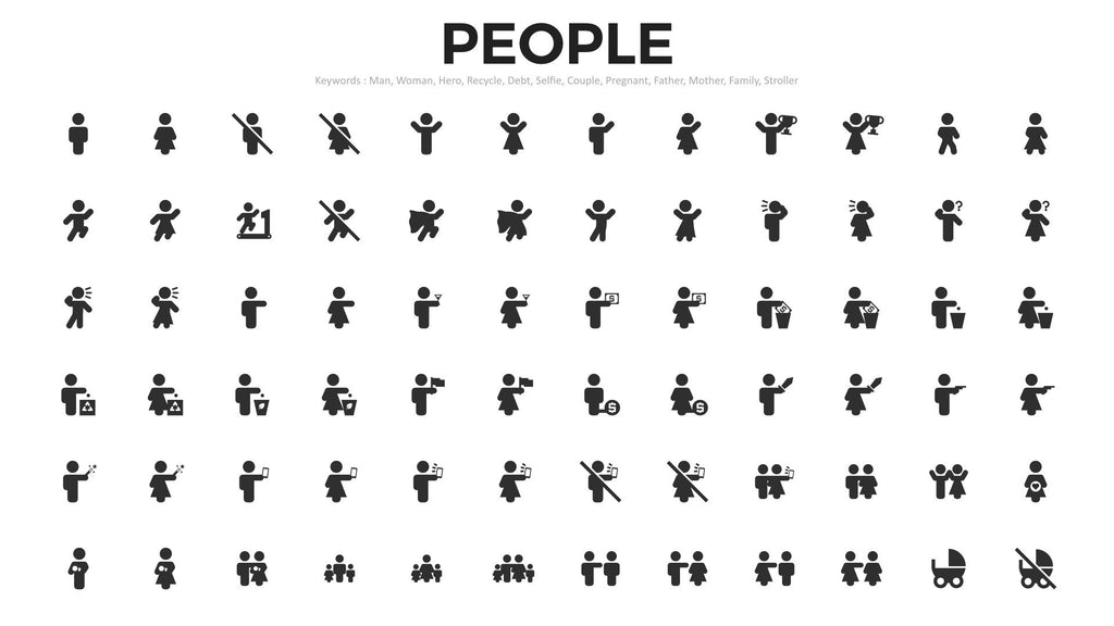 2357 premium vector icons for powerpoint keynote presentation shop