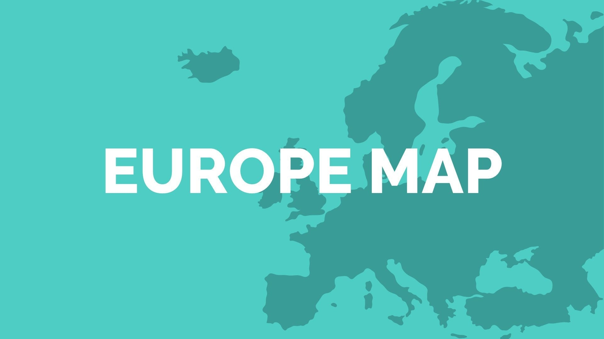 Europe Map for PowerPoint & Keynote - Presentation Shop
