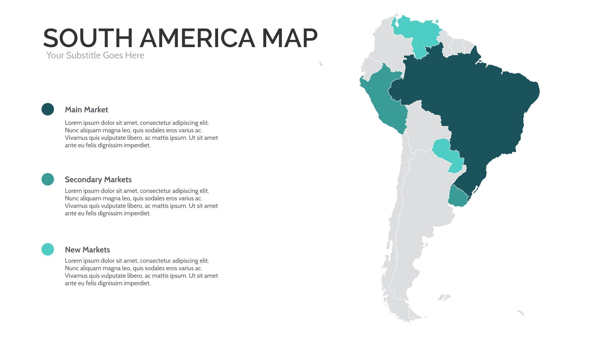 south america map for powerpoint u0026 keynote presentation shop