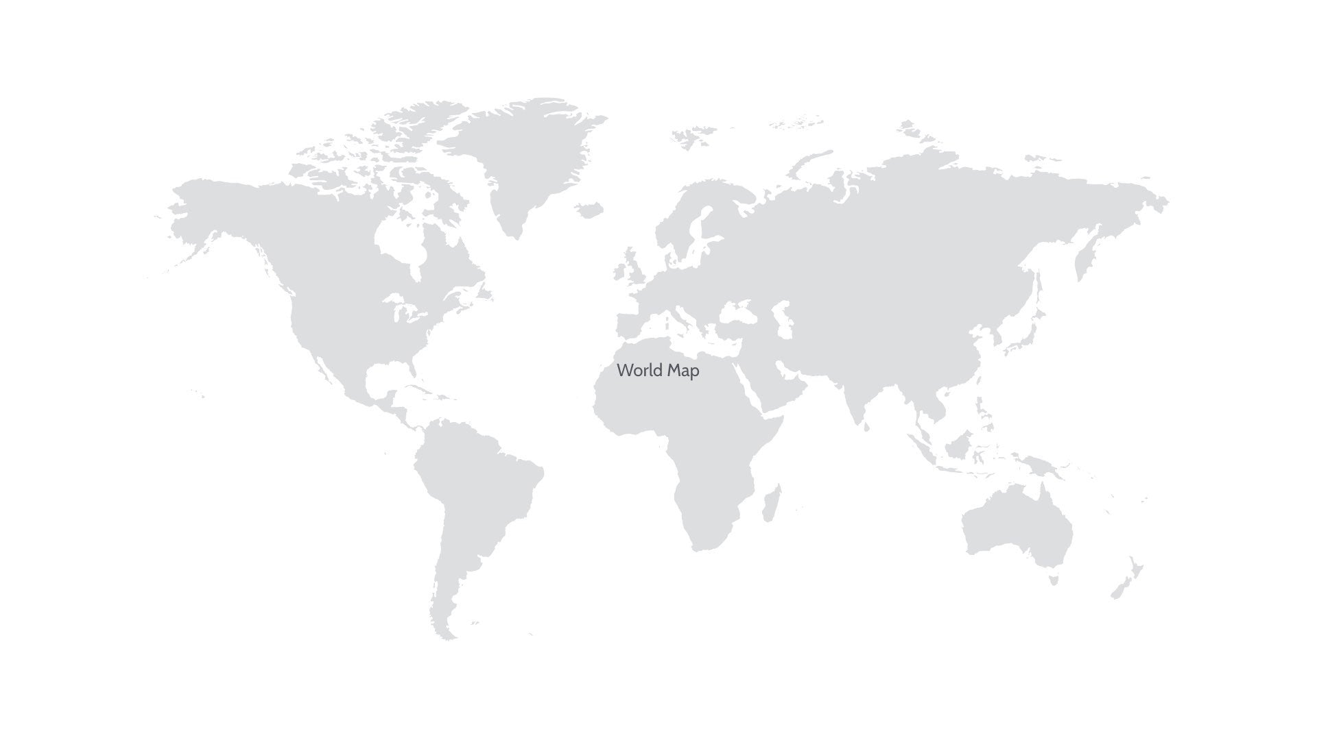 World Map For Powerpoint Keynote Presentation Shop