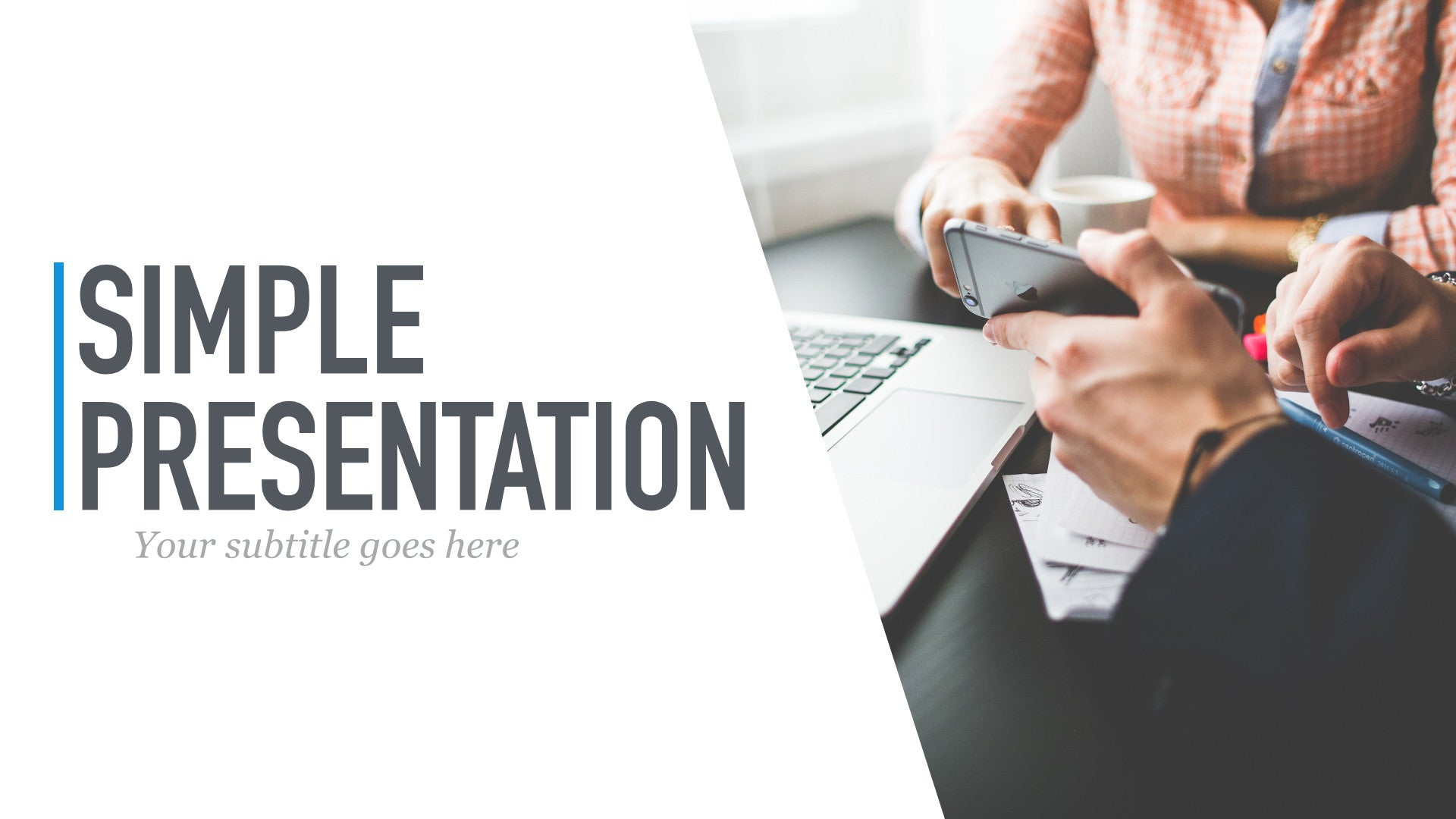 templates simple presentation template for powerpoint