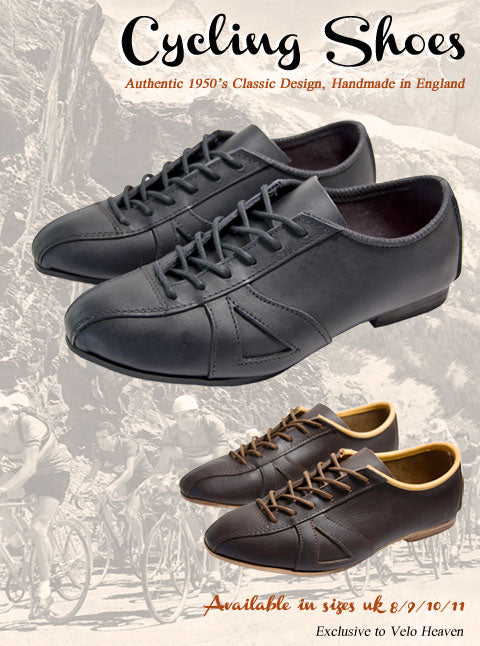 Classic Leather Cycling Shoes – Velo Heaven
