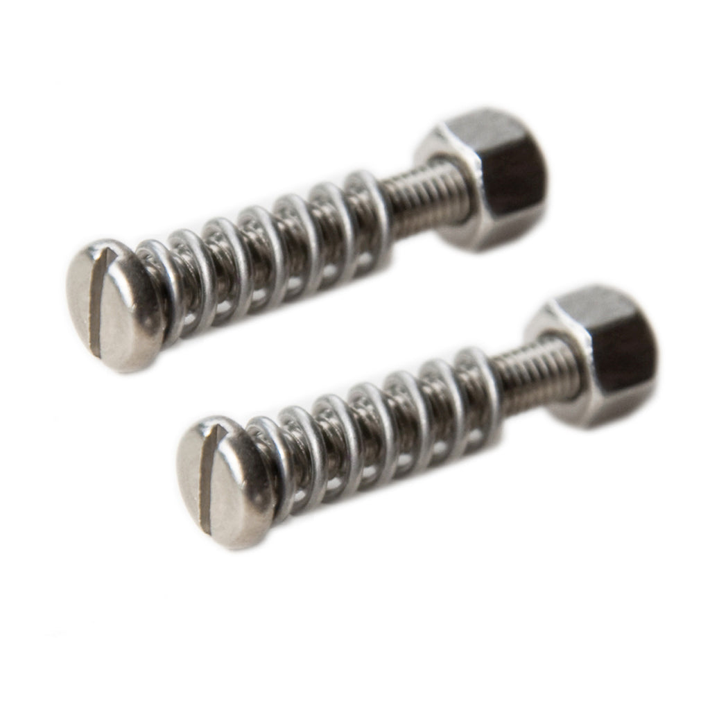 25mm short stainless steel dropout adjuster screws