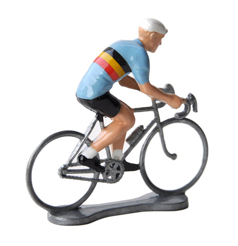 Miniature Belgium Cyclist Model