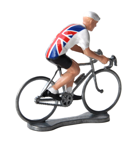 Miniature British Cyclist Model