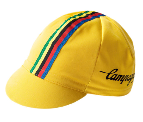 Campagnolo Yellow Cycling Cap