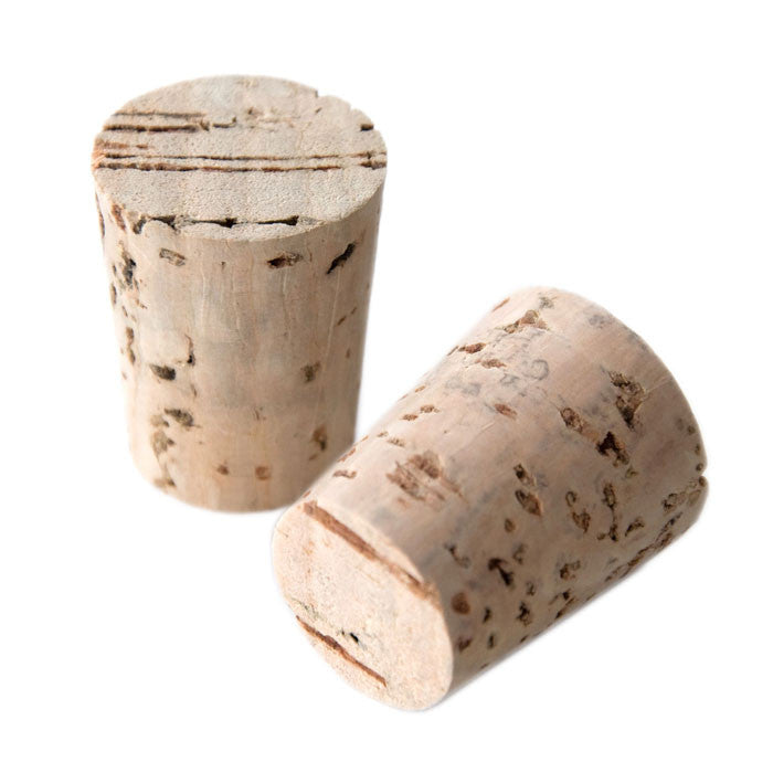 Vintage Style Natural Cork Bar End Plugs