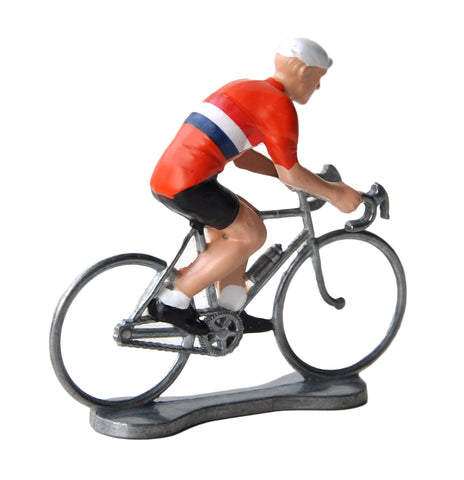 Miniature Dutch Cyclist Model
