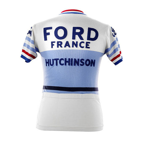 Ford France Short Sleeve Merino Wool Jersey