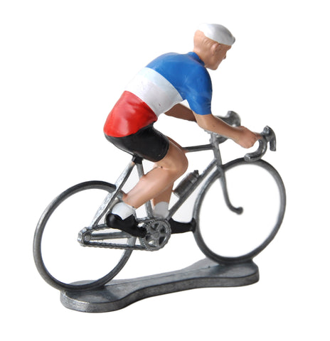 Miniature French Cyclist Model