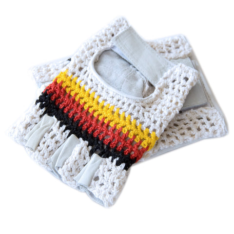German Flag Cycling Gloves