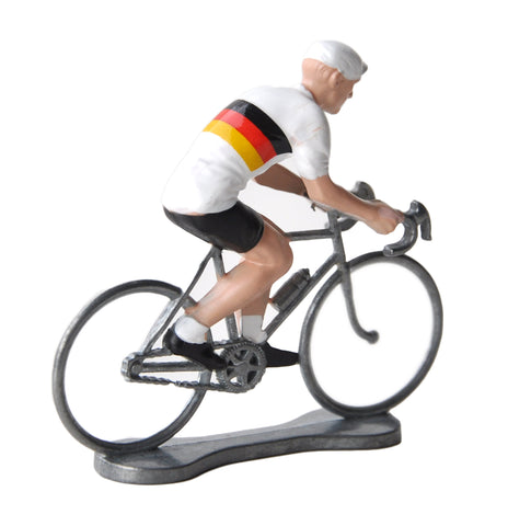 Miniature German Cyclist Model