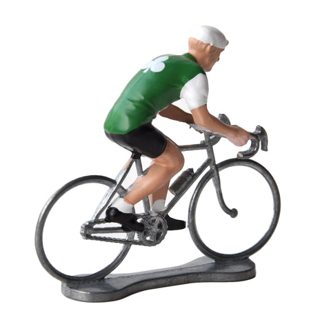 Miniature Irish Cyclist Model
