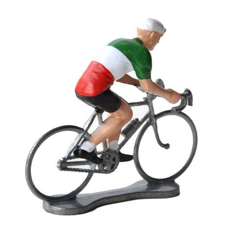 Miniature Italian Cyclist Model