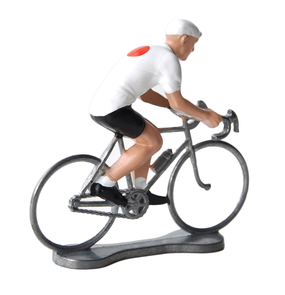 Miniature Japanese Cyclist Model