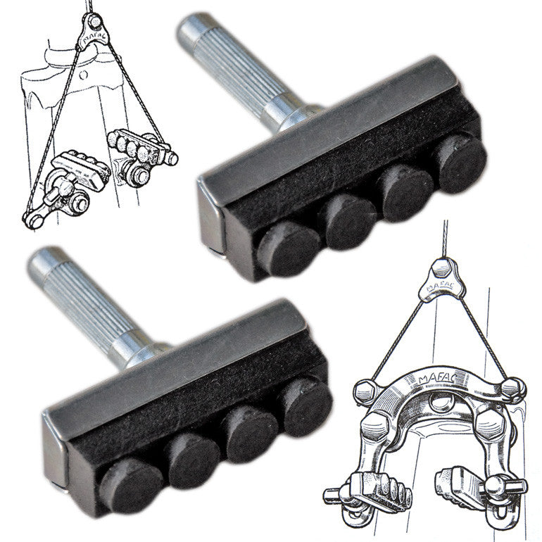 Mafac Replacement Black Brake Blocks