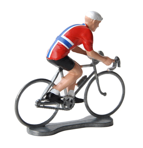 Miniature Norwegian Cyclist Model