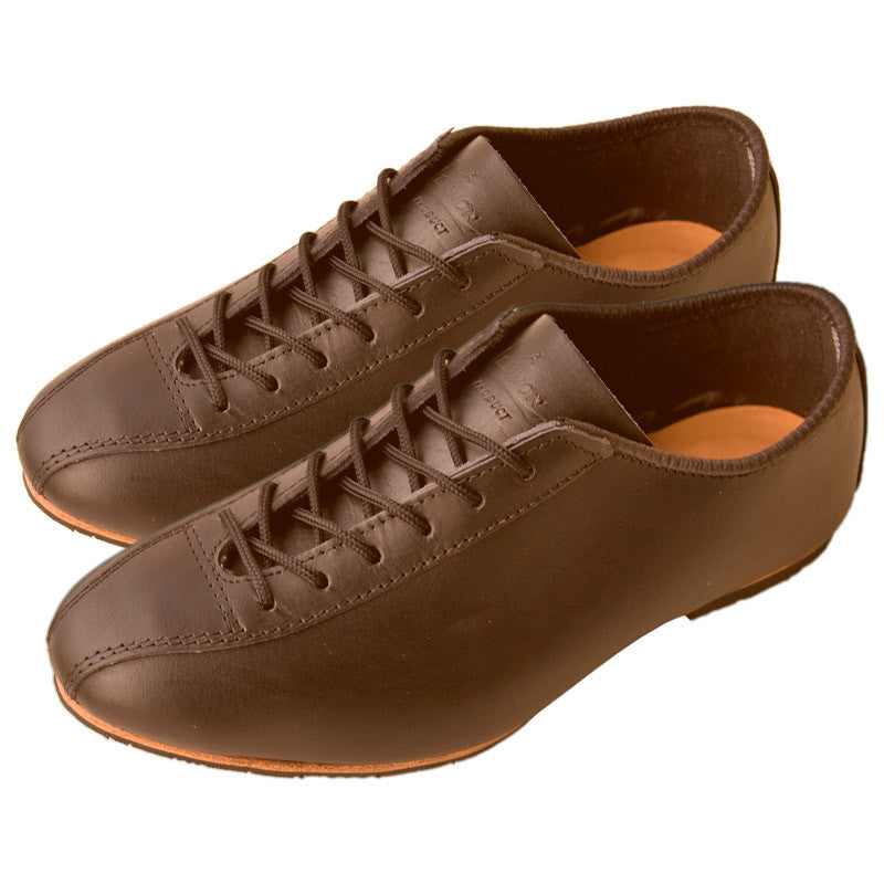 Heritage Brown Leather Cycling Shoe
