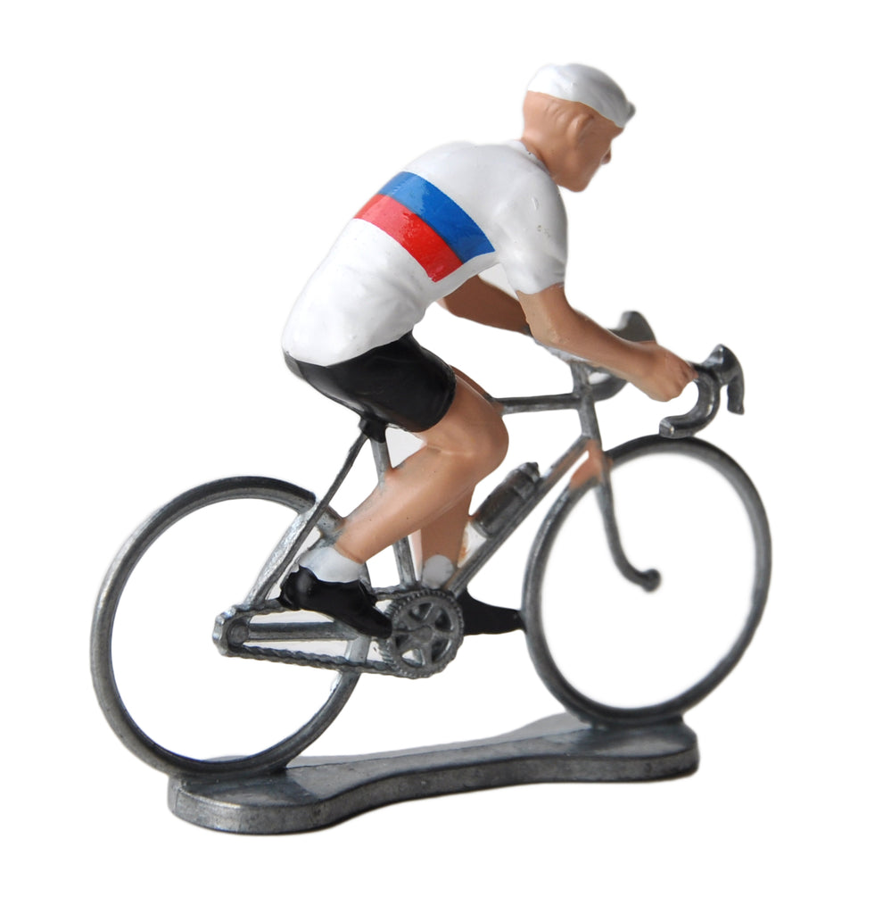 Miniature Russian Cyclist Model