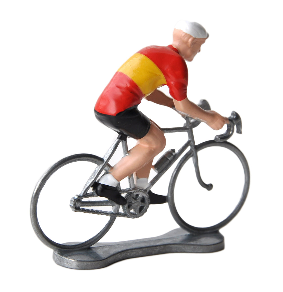 Miniature Spanish Cyclist Model