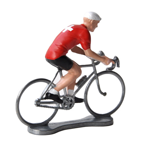 Miniature Swiss Cyclist Model
