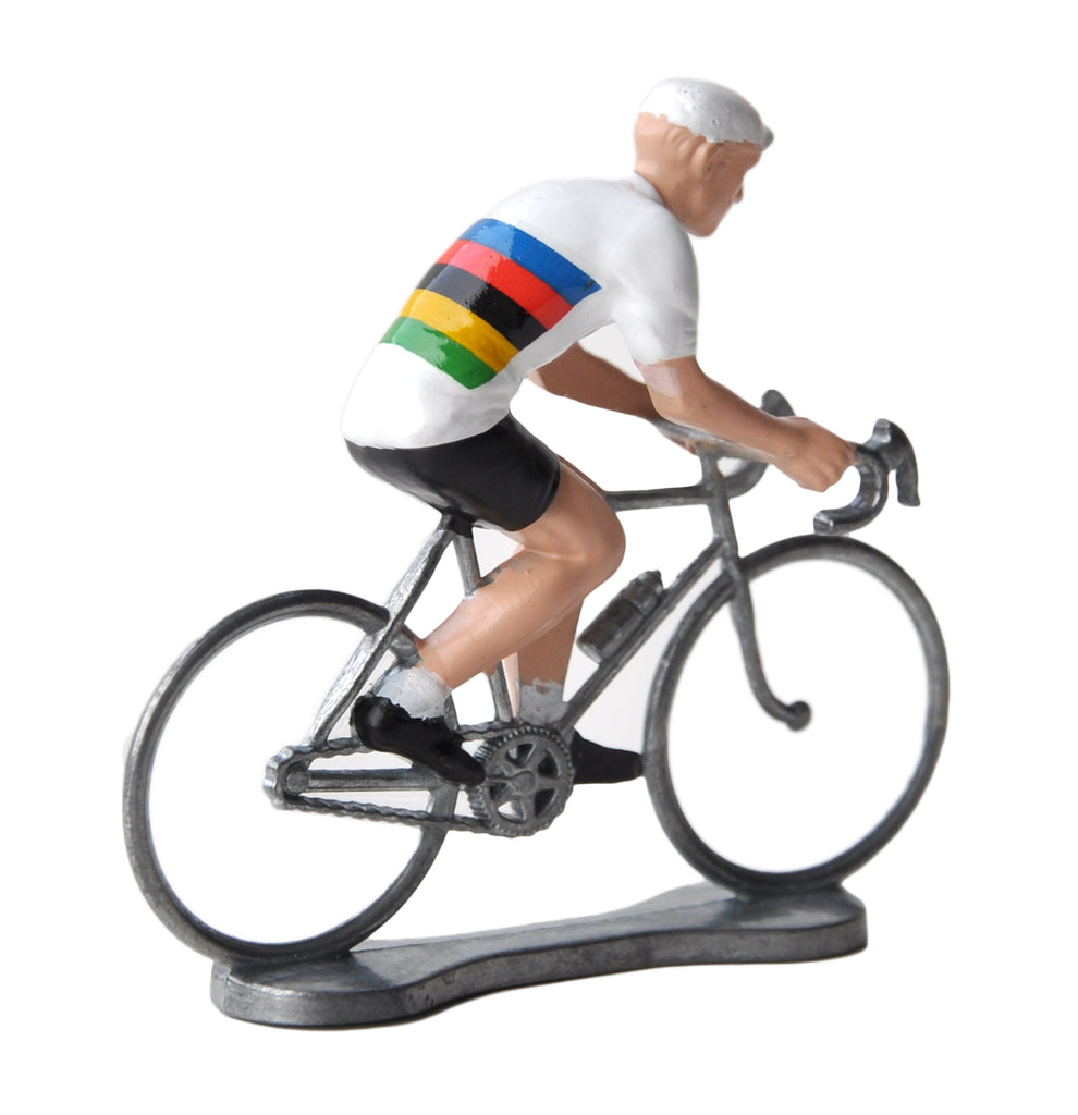 Miniature World Champion Cyclist Model