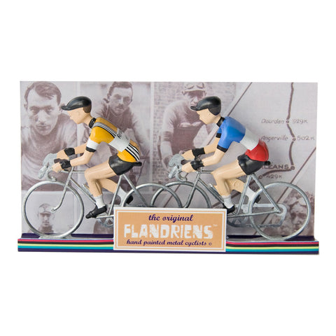 Renault & French Champion The Original Flandriens Cyclist Models