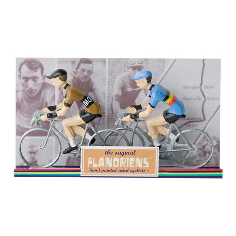 Molteni & Belgium Champion The Original Flandriens Cyclist Models