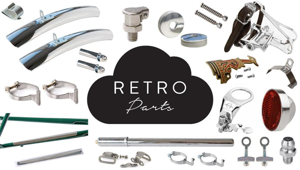 Retro Bicycle Parts