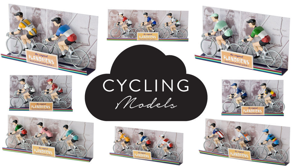 Miniature Cyclist Models