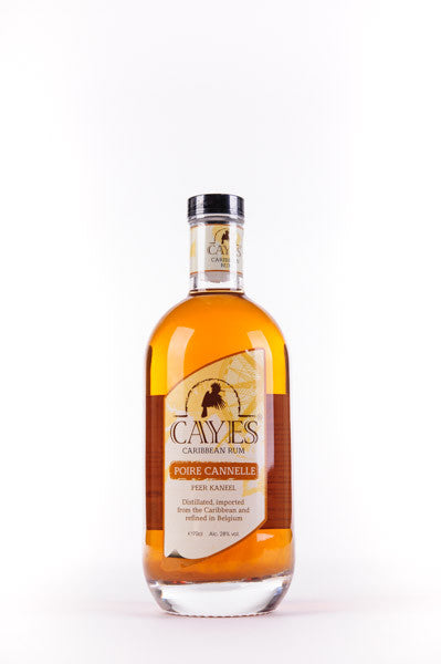 Rhum CAYES - Poire & Cannelle