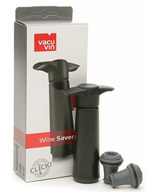 Wine Saver Black Gift Pack
