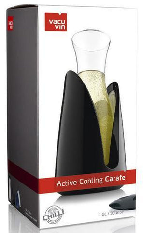Active Cooling Carafe Black