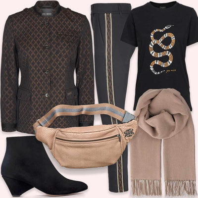 Look of the day | Autumn snake