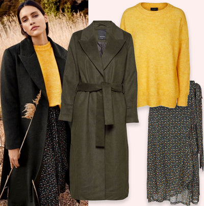 Look of the day | Yellow Wool