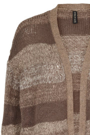Cille | Coffee | Cardigan fra Prepair