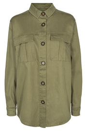 Vita Short Jacket | Burnt Olive | Kort jakke fra Freequent