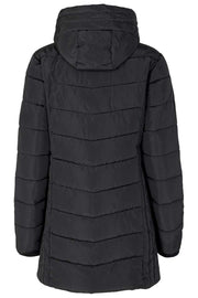Diana Long Jacket | Black | Lang jakke fra Freequent