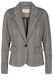 Nanni Ja Pocket Check | Black mix | Blazer fra Freequent