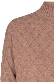 Titi Pullover | Beige Melange | Pullover fra Freequent