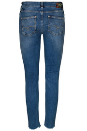 Sumner Vintage Zip Jeans | Light Blue Denim | Jeans fra Mos Mosh