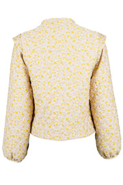 Angela Quilt Jacket | Light Yellow | Quiltet jakke fra Neo Noir