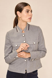Selby Hanni Jacket | Wet Weather | Ternet blazer fra Mos Mosh