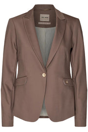 Blake Night Blazer Sustainable | Chocolate Chip | Blazer fra Mos Mosh