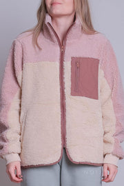Eagle Teddy Jacket | Rose | Teddy jakke fra Neo Noir